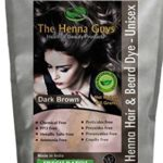 1 Pack of Dark Brown Henna Hair and Beard Color / Dye – 150 Grams – Chemicals Free Hair Color – The Henna Guys