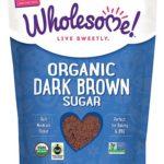 Wholesome Sweeteners Organic Dark Brown Sugar — 24 oz