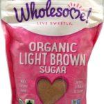 Wholesome Sweeteners Organic Light Brown Sugar — 1.5 lbs – 2 pc