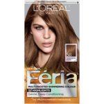 L'Oreal Paris Feria Multi-Faceted Shimmering Color, 58 Bronze Shimmer (Medium Golden Brown)