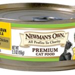 Newman's Own Premium, Chicken and Brown Rice Formula for Cats, 5.5-Ounce Cans (Pack of 24)