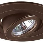 4″ Inch Recessed Ceiling CAN Light 12V MR16 Adjustable Ring Gimbal Trim BROWN BRONZE