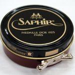Saphir Medaille D'or 1925 Pate De Luxe Light Brown 50ml Wax Shoe Polish