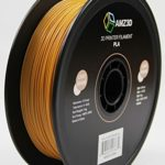 1.75mm Light Brown PLA 3D Printer Filament – 1kg Spool (2.2 lbs) – Dimensional Accuracy +/- 0.03mm