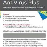 Intel Software BKCMAV1YRENG McAfee AntiVirus Plus ENGLISH 1 Year Brown Box