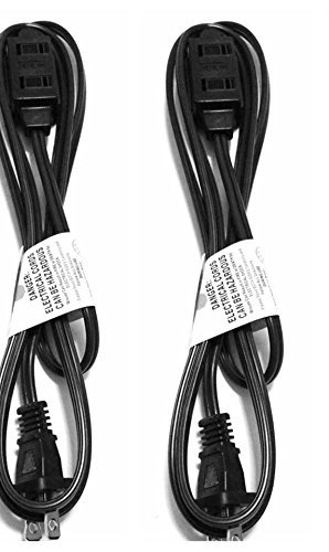 jf 6 feet wall hugger extension cord dark brown color 2 pack. Black Bedroom Furniture Sets. Home Design Ideas