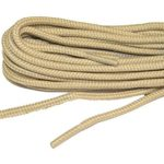 Light Tan Brown proBOOT(tm) Rugged Wear boot round shoelaces – (2 pair pack)