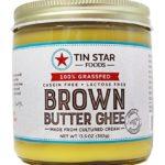 Tin Star Cultured Brown Butter Ghee – 100% Grassfed – Gluten-Free – Non GMO – Paleo – Made in USA