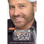 Just for Men Touch of Gray Mustache and Beard Color, Light & Medium Brown