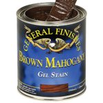 General Finishes Gel Stain, 1 quart, Brown Mahogany