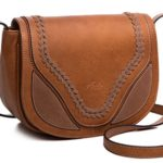 AMELIE GALANTI Women's Crossbody Bags Saddle Bag with Flap Top