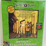 Marc Brown's Arthur's Teacher Trouble Living Books CD-ROM for PC/MAC (Old Packaging)