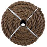 YM CR101 Twisted Polypropylene Rope, 1/2-Inch by 50-Feet, Brown