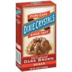 Dixie Crystals: Dark Pure Cane Brown Sugar, 16 Oz