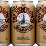 Dr. Browns Soda, Diet Cream Soda, 12oz cans Pack of 6