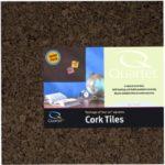 Quartet Cork Tiles, 12″ x 12″, Corkboard, Mini Wall Bulletin Boards, Dark Brown, 4 Pack (15050Q)