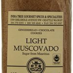 India Tree Light Muscovado Sugar, 16 Ounce (Pack of 6)