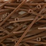 4 Inch Brown Miniature Nylon Cable Tie – 500 Pack