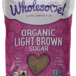 Wholesome Sweeteners Fair Trade Org Light Brown Sugar, 24 oz Pouches, 2 pk