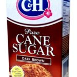 C&H Pure Cane Sugar DARK BROWN 16oz (2 Pack)