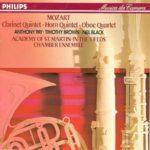 Mozart: Clarinet Quintet, etc / Academy Chamber Ensemble