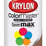 Krylon K05356202 Brown Boots 'Satin Touch' Decorator Spray Paint – 12 oz. Aerosol