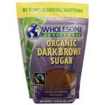 Wholesome Sweeteners, Inc., Organic Dark Brown Sugar, 24 oz (681 g) Wholesome Sweeteners, Inc., Organic Dark Brown Sugar, 24 oz (681 g) – 2pcs