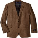 U.S. Polo Assn. Men's Big-Tall Wool Donegal Sport Coat, Brown, 54 Regular