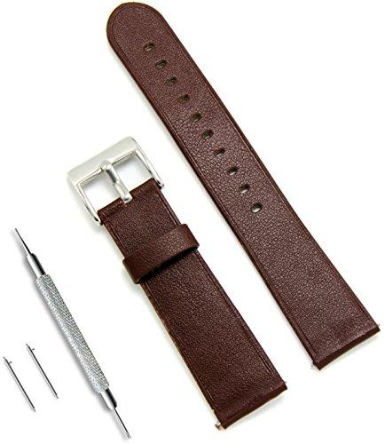 Civo quick release simple watch bands top grain genuine