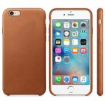 IPhone 6s Plus Case , iPhone 6 Plus Case,DDLBiz Ultra-thin Luxury Leather Back Case Cover For iPhone 6/6S Plus 5.5inch (Light Brown)