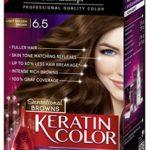 Schwarzkopf Keratin Color Anti-Age Hair Color Cream, 6.5 Light Golden Brown