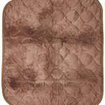 RMS CP-600BW Absorbent Washable Reusable Incontinence Chair Seat Protector Pad, Underpad, 3-Layer Innovative Design, 350 Washes Guarantee, 21″ Width, 22″ Length, Brown