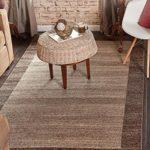 Unique Loom Del Mar Collection Light Brown 3 x 5 Area Rug (3′ 3″ x 5′ 3″)
