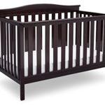 Delta Children Independence 4-in-1 Convertible Crib, Dark Chocolate