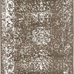 Unique Loom Sofia Collection Brown 2 x 7 Runner Area Rug (2′ x 6′ 7″)