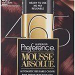 L'Oreal Paris Superior Preference Mousse Absolue, 465 Dark Auburn Brown