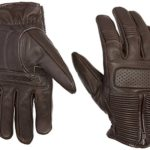 Joe Rocket Men's Café Racer Motorcycle Gloves (Brown, Large)