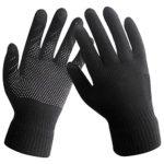 Touch Screen Knitted Non-slip Gloves Unisex Soft Woolen Winter Gloves Mittens