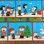 Gift Wrapping Holiday Paper Charlie Brown SNOOPY Peanuts Holiday Wrapping Paper