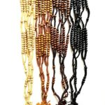 Handcrafted Wood Nazareth Catholic Cord Rosary Beads Jesus Imprint Crucifix by Bethlehem Gifts TM