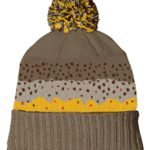 Rep Your Water Brown Trout Skin Knit Cap Beanie