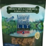 Natural Balance Pet Food L.I.T. Small Breed Treats for Dogs Brown Rice and Lamb — 8 oz (Pack of 2)