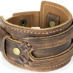 The Most Comfortable Genuine Leather Cuff Bracelet by Tundra Jewelry