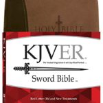 KJVER Sword Study Bible Giant Print Dark Brown Light Brown Ultrasoft: King James Version Easy Read