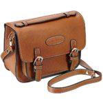 Mini 9 Instant Camera Accessories Case – Lalonovo Retro Vintage PU Leather Bag for Fujifilm Instax Mini 9/ Mini 8/ Mini 7s/ Mini 25/ Mini 50s/ Mini 90/ Instant Film Camera with Shoulder Strap (Brown)