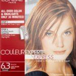 L'Oréal Paris Couleur Experte Hair Color + Hair Highlights, Light Golden Brown – Brioche