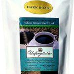 Roasted Brown Rice Coffee Alternative (Dark Roast, 60 cup)