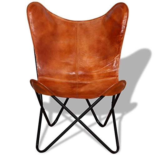 sr leather living room chairs cover butterfly chair brown cover handmade genuine leather cover. Black Bedroom Furniture Sets. Home Design Ideas